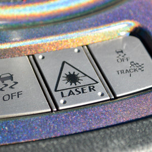 Laser Button for Civic