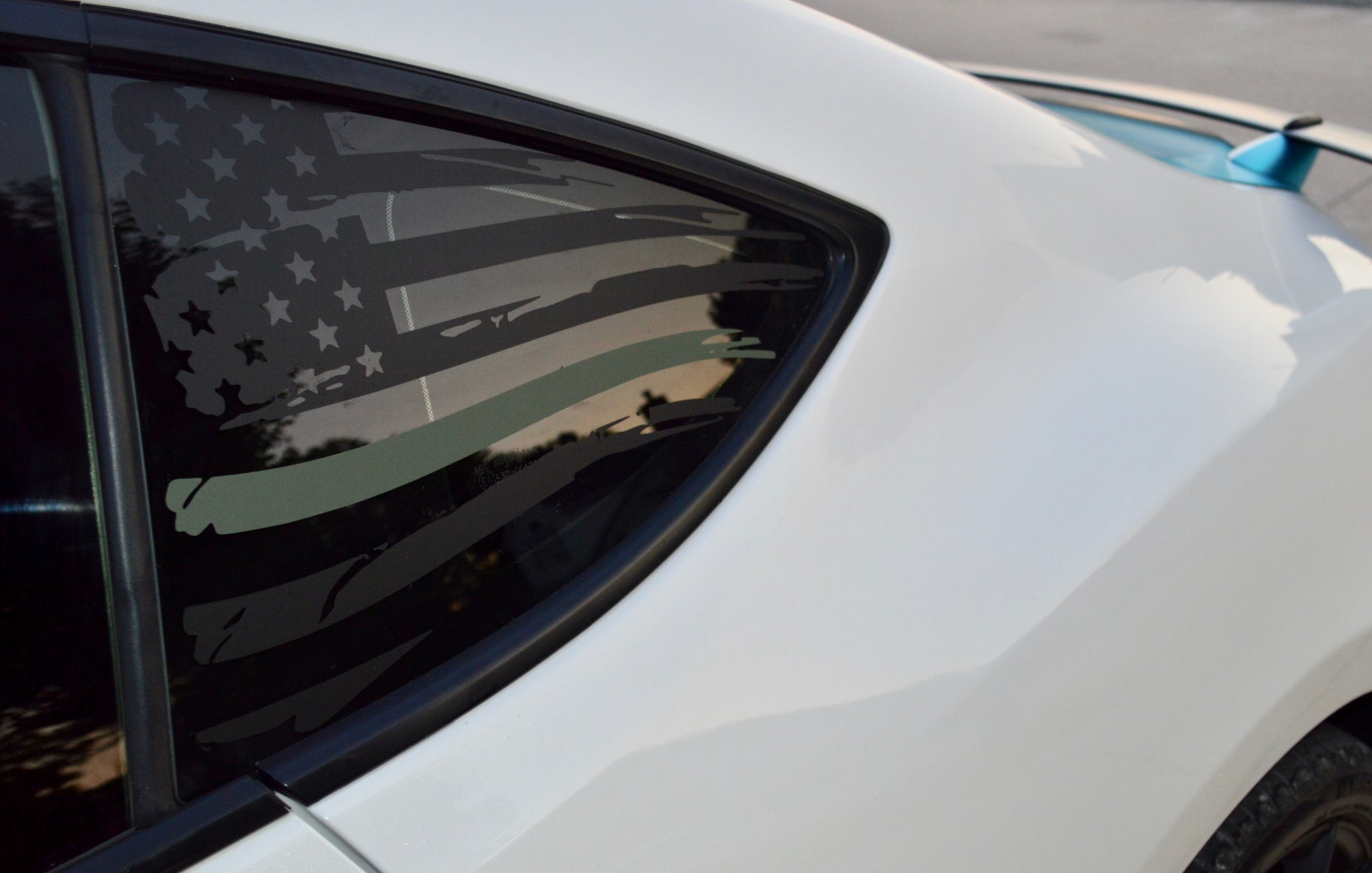 American Flag V2 with Army Green stripe for FR-S, BRZ, GT86, and 86