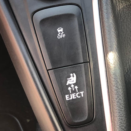 eject seat decal button for Ford focus