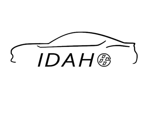 FT86 BRZ GT86 FRS FR-S 86 Vinyl Decal Sticker Bodyline State Idaho ID