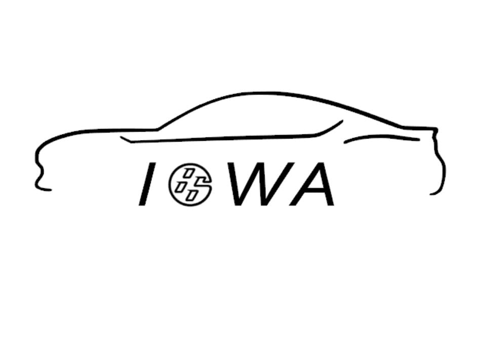 FT86 BRZ GT86 FRS FR-S 86 Vinyl Decal Sticker Bodyline State Iowa IA