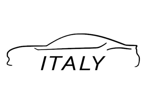 FT86 BRZ GT86 FRS FR-S 86 Vinyl Decal Sticker Bodyline State Italy