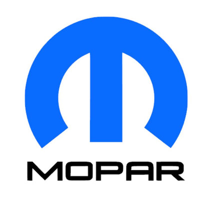 Mopar vinyl decal sticker blue and black