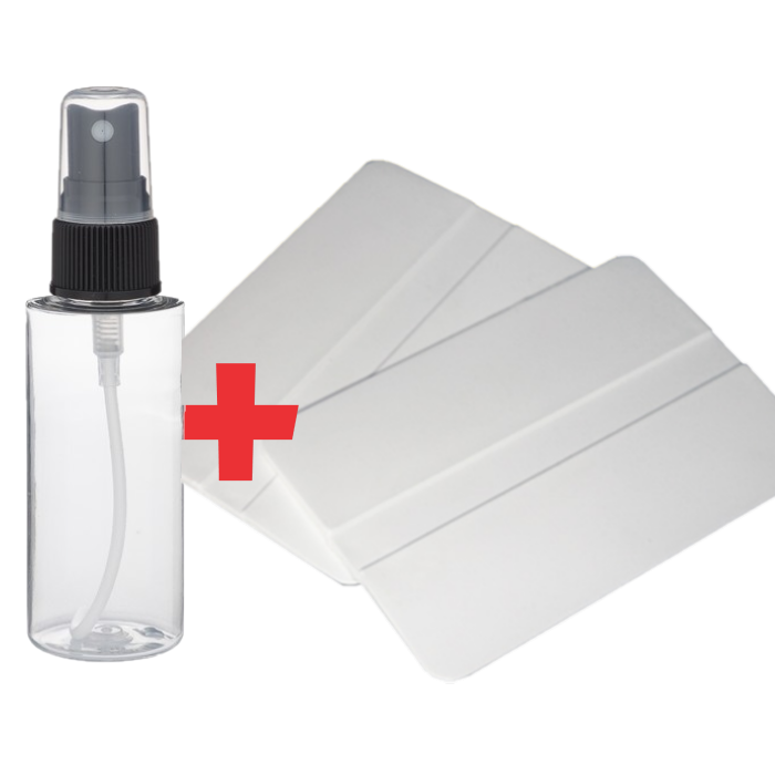 Spray Bottle and Squeegee Bundle