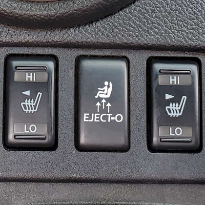 eject eject-O seat button decal for g37