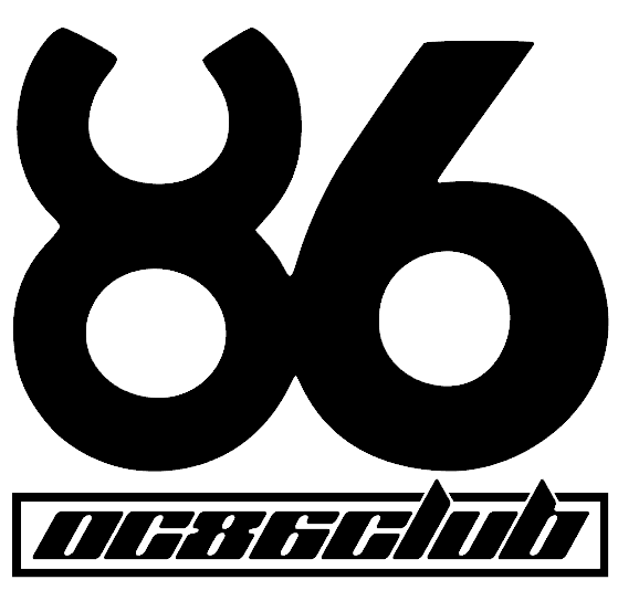 OC86 CLUB Font 2 of 4