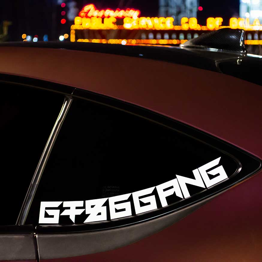 GT86GANG Body Line Decal