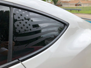 american flag vinyl decal sticker for frs fr-s brz gt86 matte black
