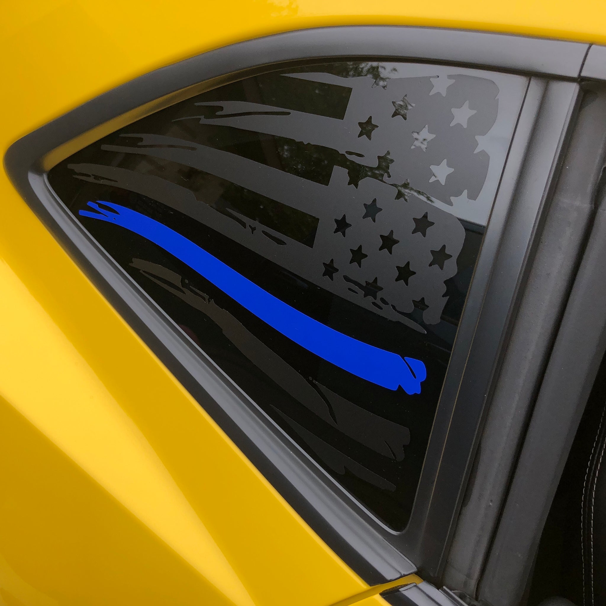 2010-2015 Camaro: American Flag One Colored Stripe