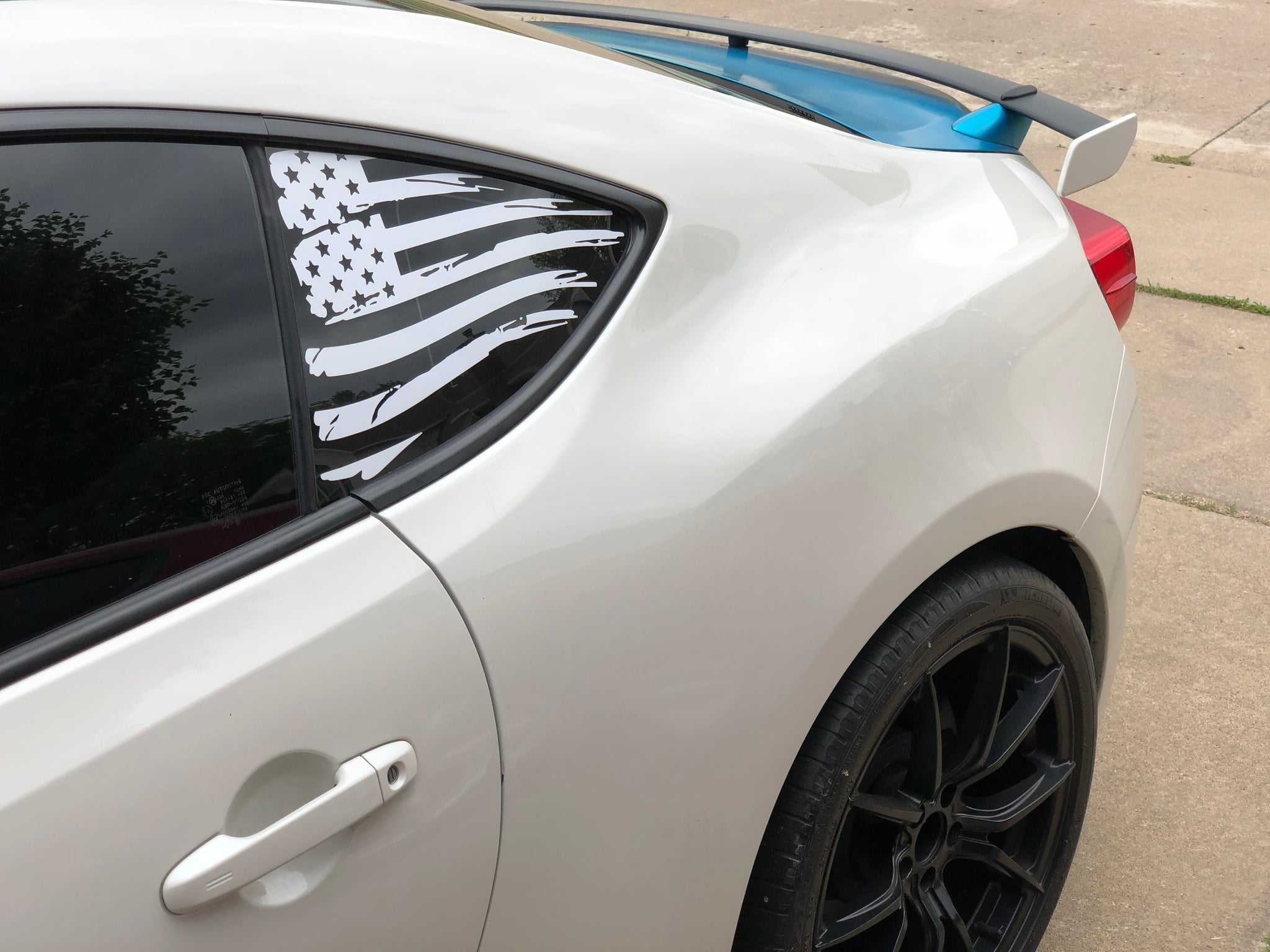 american flag vinyl decal sticker for frs fr-s brz gt86