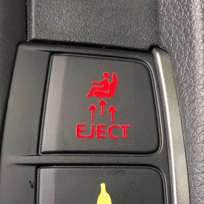 eject seat ejecto seato cuz decal sticker for Honda Civic