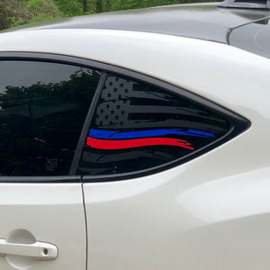 American Flag V2 Blue and Red Stripe for FR-S, BRZ, GT86, and 86