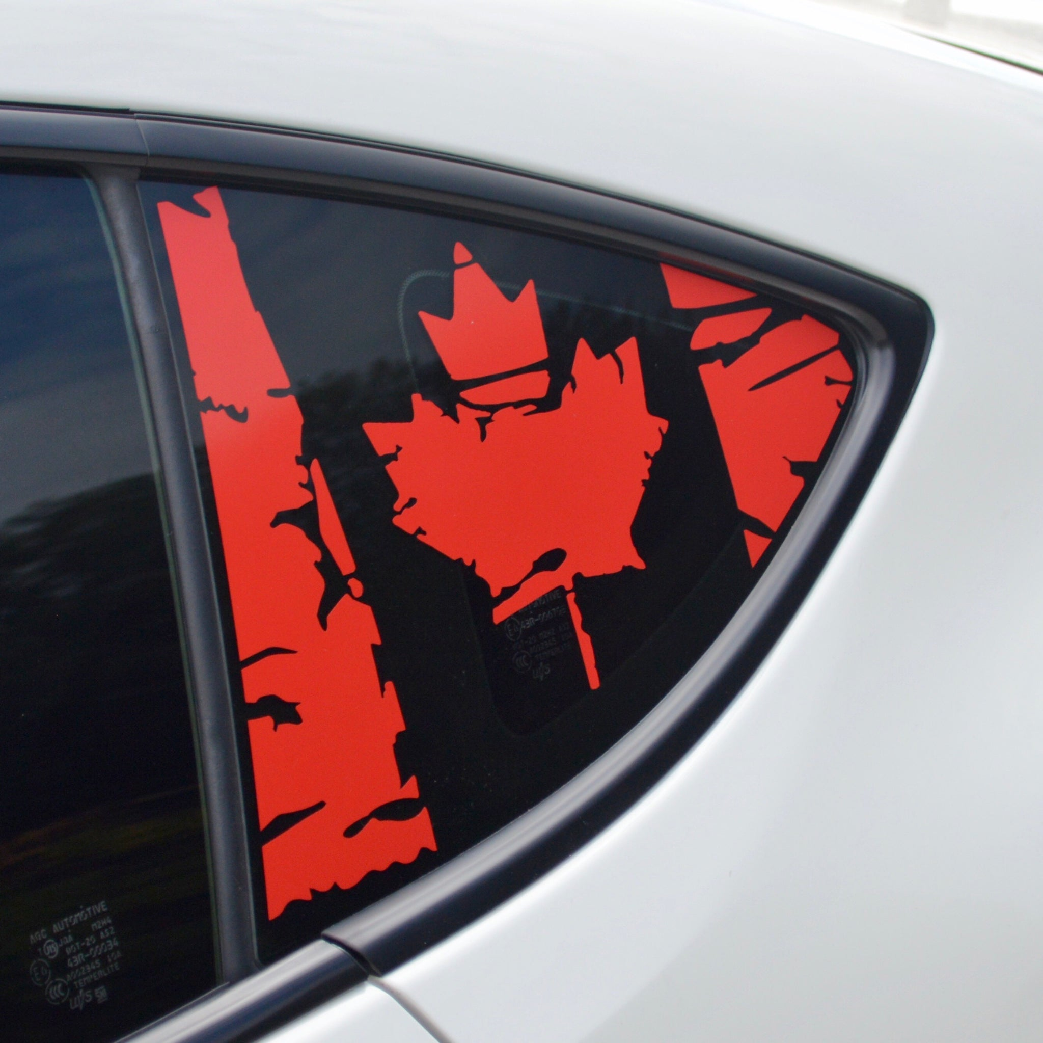 Canada Flag decal sticker for subaru brz scion fr-s toyota gt86 86 ft86