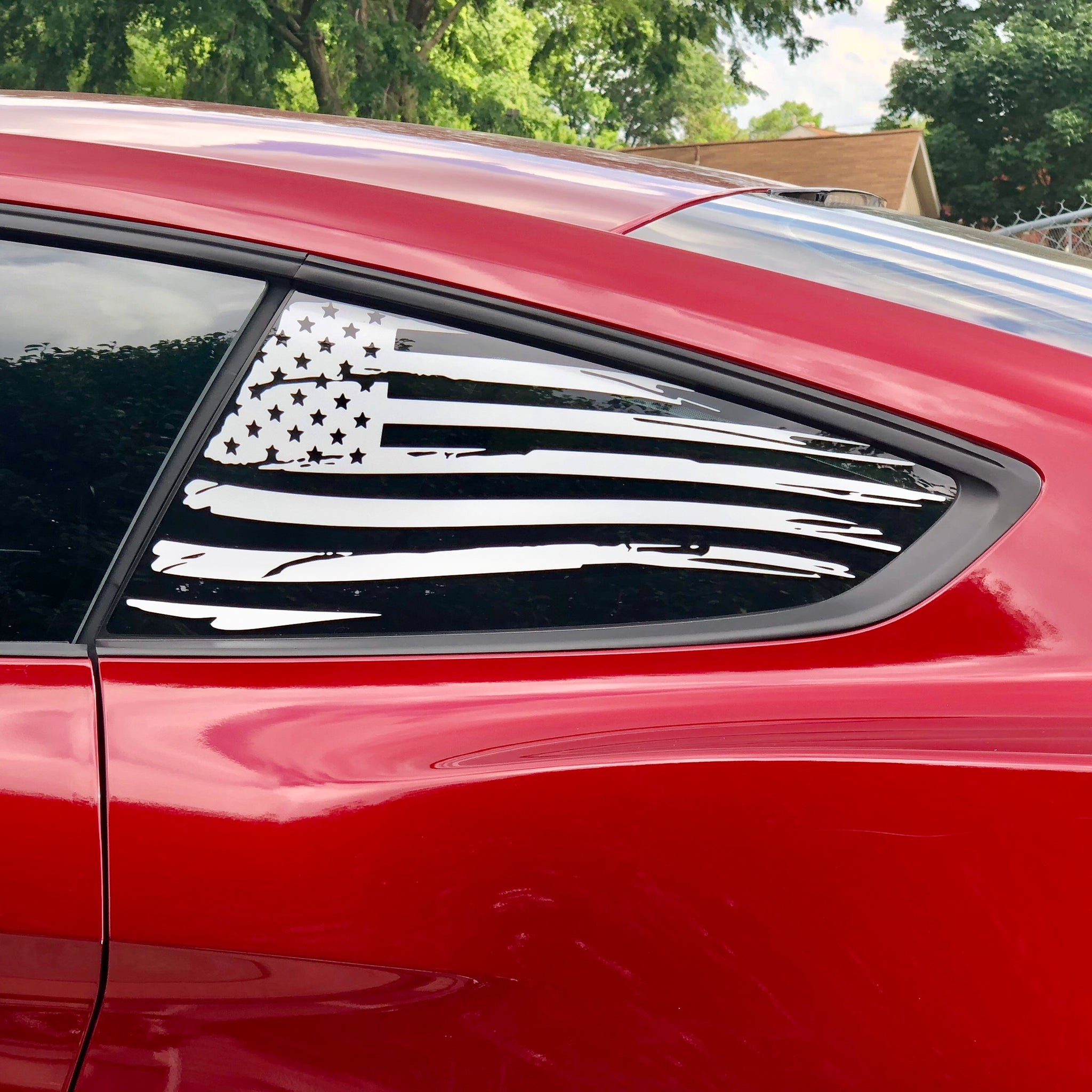 American Flag for Mustang 2015+