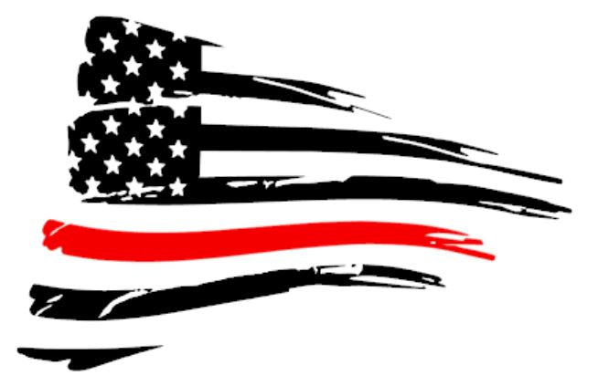 American Flag with One Colored Stripe PAIR for Camaro 2010-2015