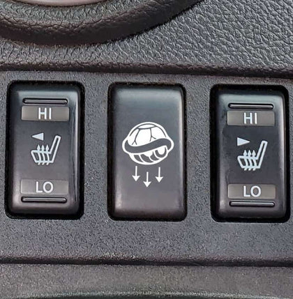 shell button decal for infiniti g37
