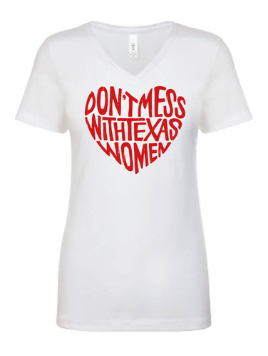 Don't Mess (White): Megan Mead Designed