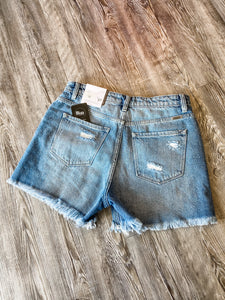Brianna Distressed Shorts