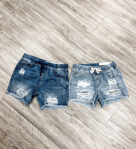 EXTENDED LENGTH MISS INDEPENDENT SHORTS
