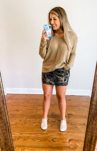 Camo is Neutral Skirt