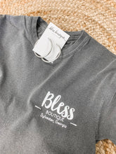 BLESS TEE-CHARCOAL