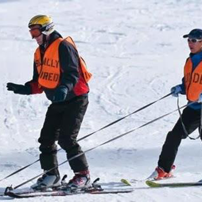 Adaptive Blind & Low Vision Ski, Lake Tahoe, California