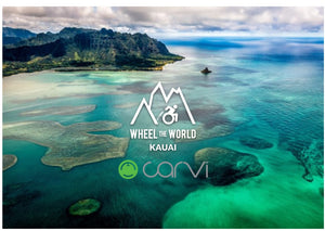Carvi Project: Wheel the World Kauai