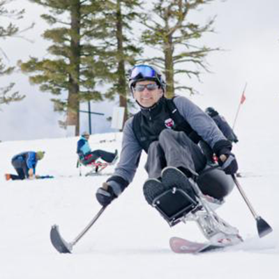 Adaptive Mono Ski, Lake Tahoe, California