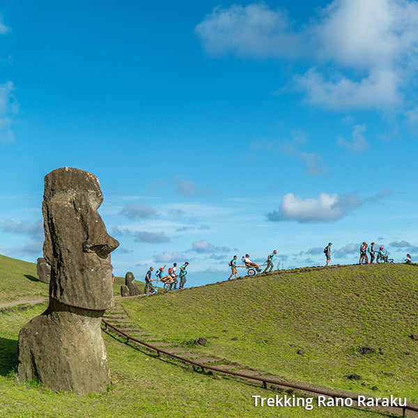 5 days Travel Experience Easter Island, Chile.