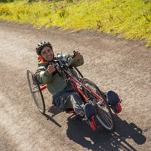Handbike to Ahu Tongariki