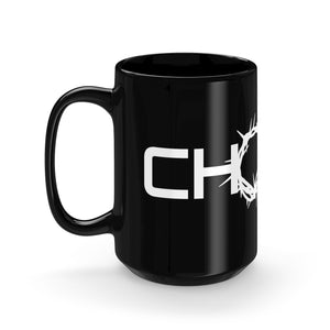 Chosen Black Mug 15oz