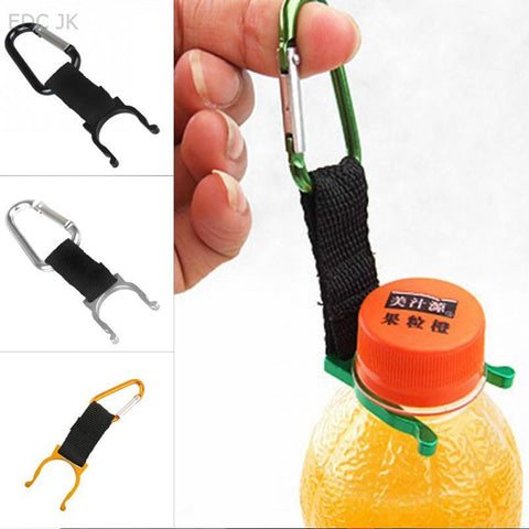 Keychain Safety Buckle Camping Carabiner Water Bottle Buckle For Camping Hiking Traveling