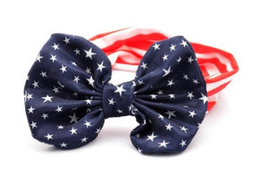 Mommy & Daughter Patriotic Headband Set