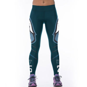 Eagles High Waist Leggings