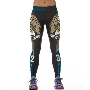 Jaguars High Waist Leggings