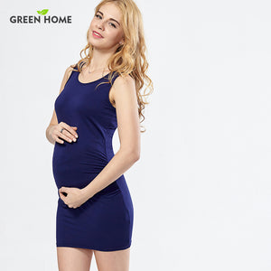 Sleeveless Jersey Maternity Summer Dress