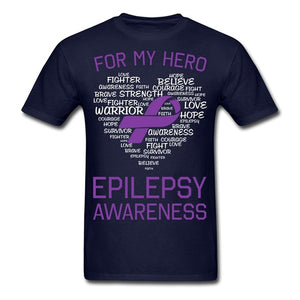 For My Hero-Epilepsy Awareness T-Shirt
