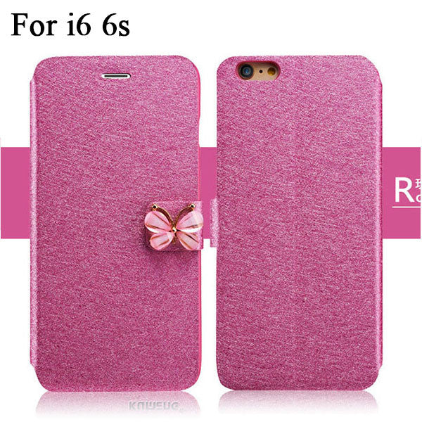 Butterfly Flip Leather Phone Case