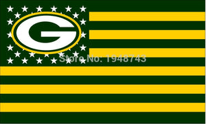3x5 ft Packers Team Flag