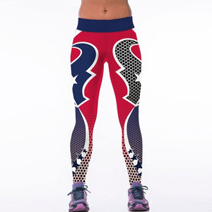 Texans High Waist Leggings