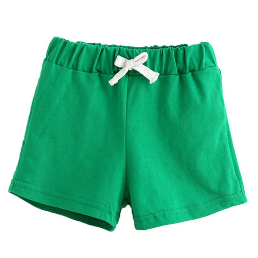 Unisex Cotton Shorts (Various Color Options) (2T-6)