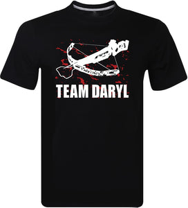 The Walking Dead Faneam Daryl Dixon Crossbow Crew Neck Men Short Sleeve Shirts