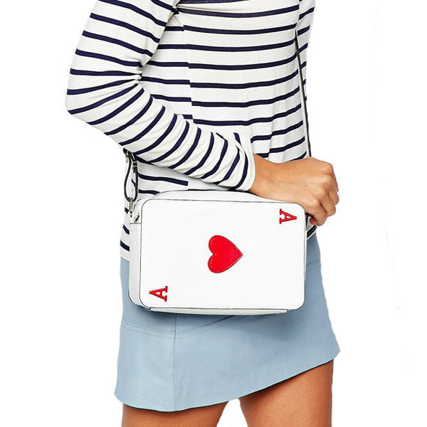 Fashion Playing Cards Clutch