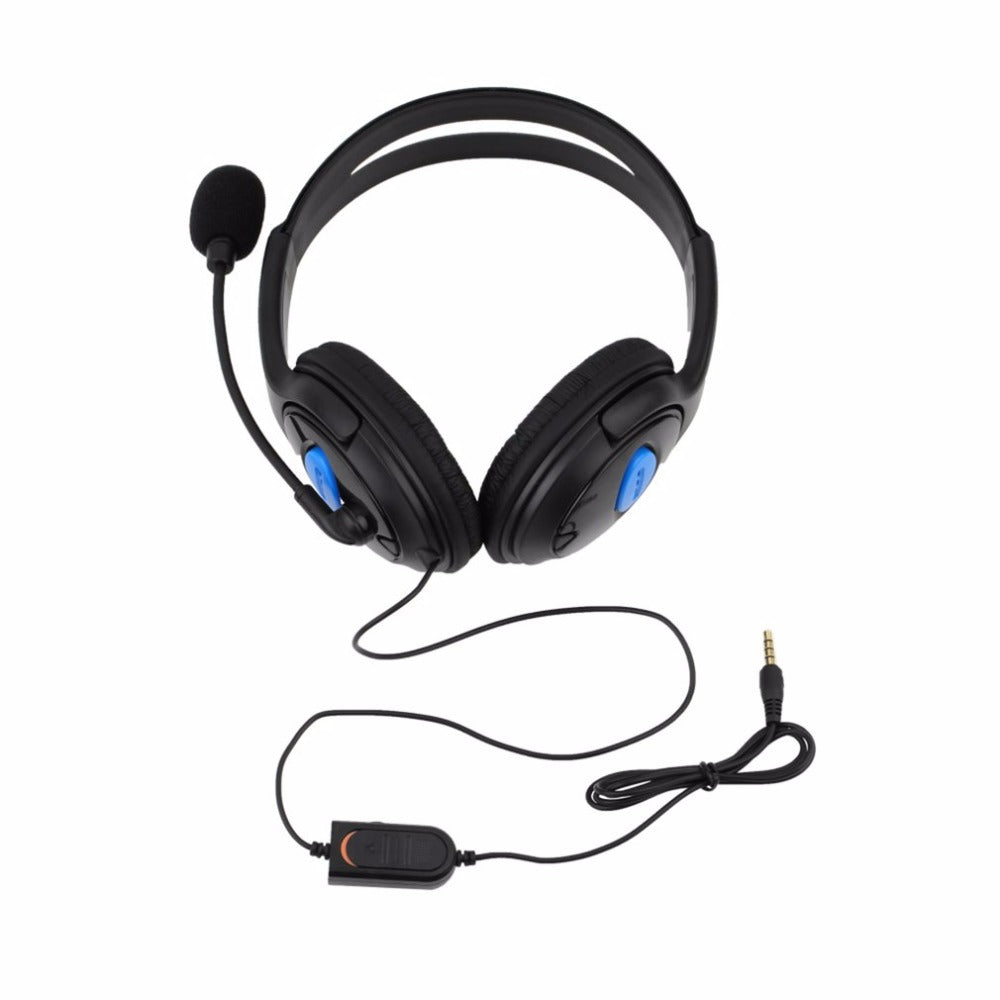 Wired Gaming Headset Earphones Headphones with Microphone Mic Stereo Super Bass