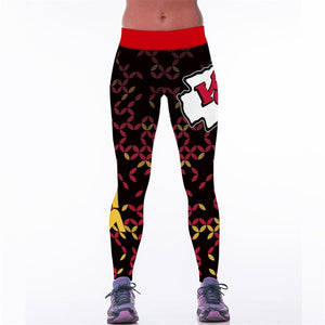 Chiefs High Waist Leggings