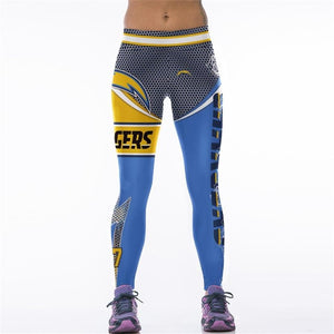 Chargers High Waist Leggings