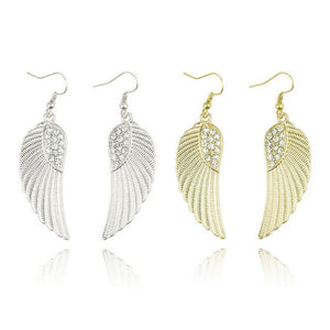 SUSENSTONE Angel Wings Earrings