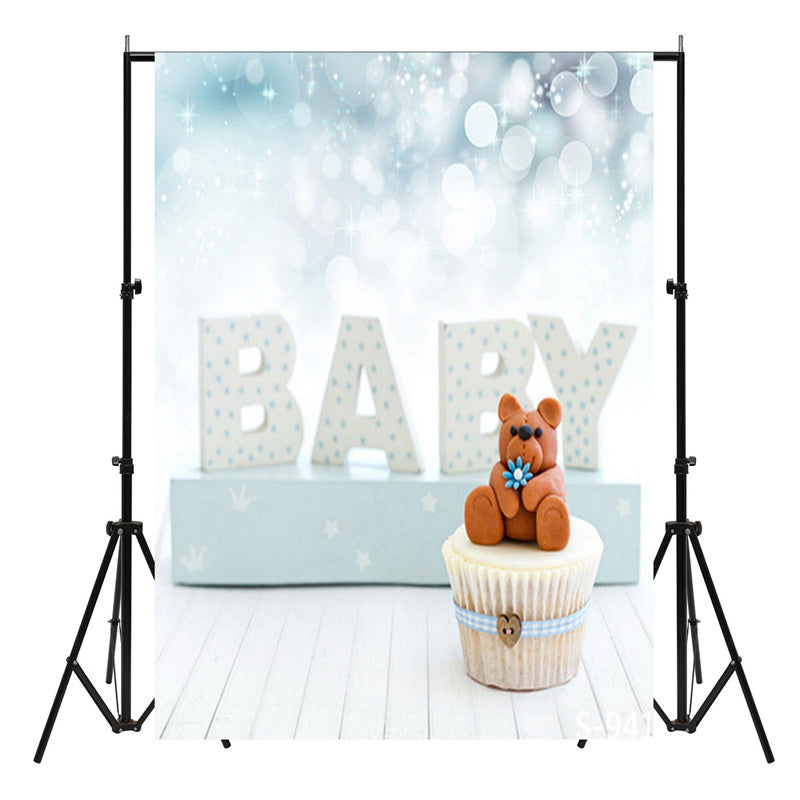 150X90cm Blue Baby Photo Backdrop