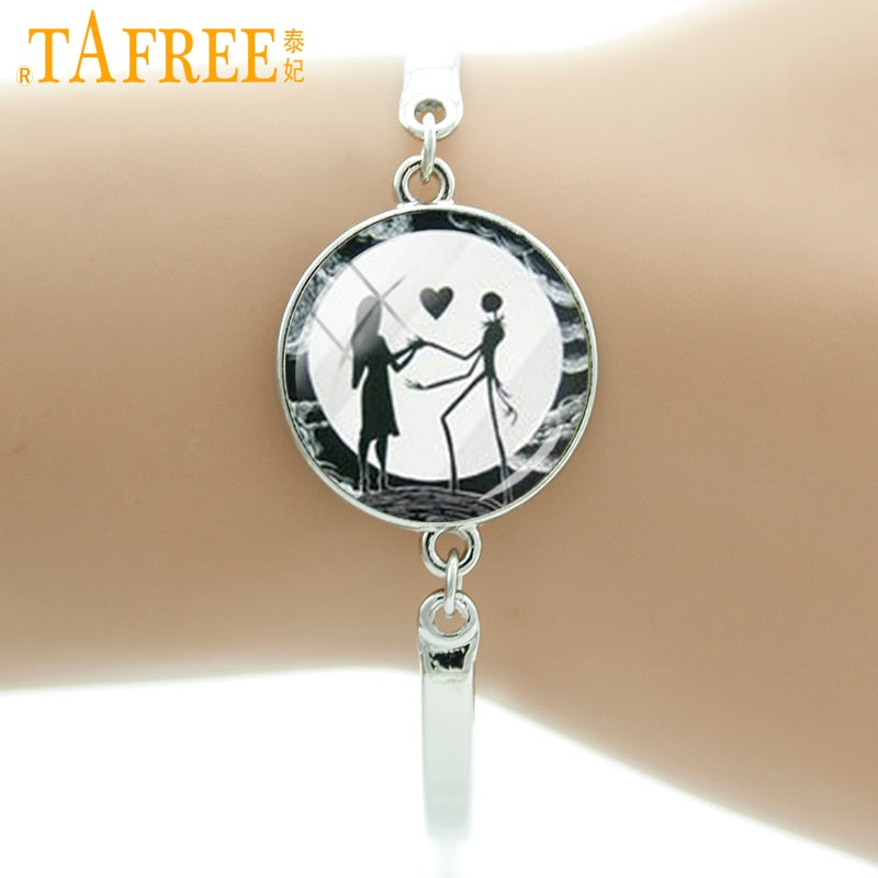 TAFREE Nightmare Before Christmas lovers bracelet