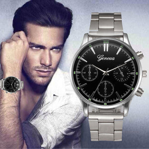 Men's Luxury Fashion Stainless Steel Quartz Watch